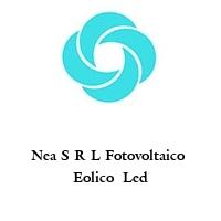 Nea S R L Fotovoltaico  Eolico  Led