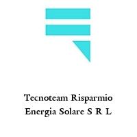 Tecnoteam Risparmio Energia Solare S R L