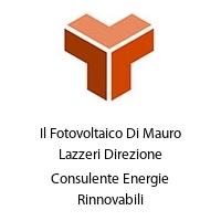 Il Fotovoltaico Di Mauro Lazzeri Direzione Consulente Energie Rinnovabili
