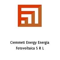 Ciemmeti Energy Energia Fotovoltaica S R L