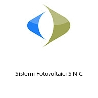Sistemi Fotovoltaici S N C