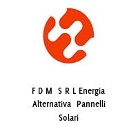 F D M  S R L Energia Alternativa  Pannelli Solari