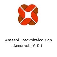 Amasol Fotovoltaico Con Accumulo S R L