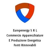 Europenergy S R L Commercio Apparecchiature E Produzione Energetica Fonti Rinnovabili