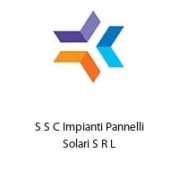 S S C Impianti Pannelli Solari S R L