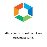 Ab Solar Fotovoltaico Con Accumulo S R L
