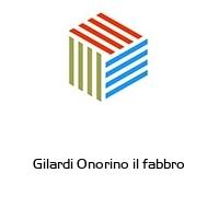 Gilardi Onorino il fabbro