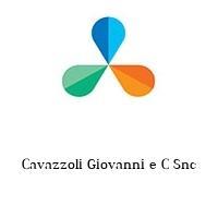 Cavazzoli Giovanni e C Snc
