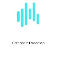 Carbonara Francesco