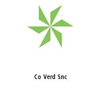 Co Verd Snc