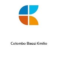 Colombo Bassi Emilio