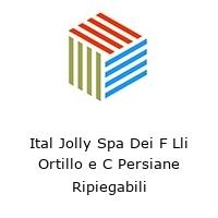 Ital Jolly Spa Dei F Lli Ortillo e C Persiane Ripiegabili