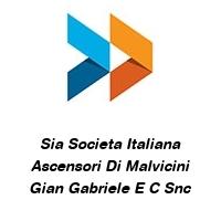 Sia Societa Italiana Ascensori Di Malvicini Gian Gabriele E C Snc
