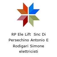 RP Ele Lift  Snc Di Persechino Antonio E Rodigari Simone elettricisti