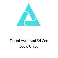 Fabbri Ascensori Srl Con Socio Unico
