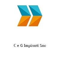 C e G Impianti Snc