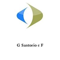 G Santorio e F