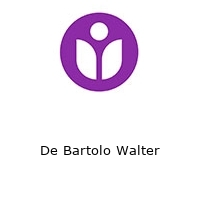 De Bartolo Walter