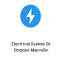 Electrical System Di Dognini Marcello