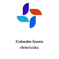 Colombo fausto elettricista