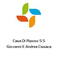 Casa Di Riposo S S Giovanni E Andrea Cissaca