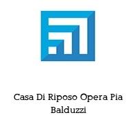 Casa Di Riposo Opera Pia Balduzzi