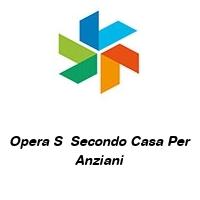 Opera S  Secondo Casa Per Anziani