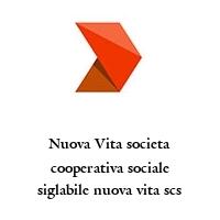 Nuova Vita societa cooperativa sociale siglabile nuova vita scs
