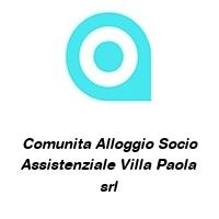 Comunita Alloggio Socio Assistenziale Villa Paola srl
