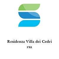 Residenza Villa dei Cedri rsa