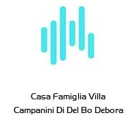 Casa Famiglia Villa Campanini Di Del Bo Debora