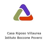 Casa Riposo Villaurea Istituto Boccone Povero