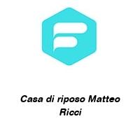 Casa di riposo Matteo Ricci
