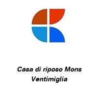 Casa di riposo Mons Ventimiglia