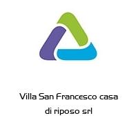 Villa San Francesco casa di riposo srl