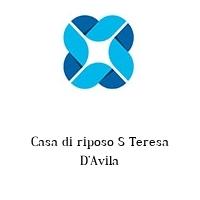 Casa di riposo S Teresa D'Avila