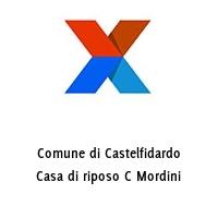 Comune di Castelfidardo Casa di riposo C Mordini