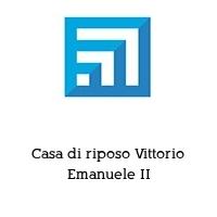 Casa di riposo Vittorio Emanuele II
