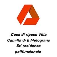 Casa di riposo Villa Camilla di Il Melograno Srl residenza polifunzionale