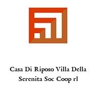 Casa Di Riposo Villa Della Serenita Soc Coop rl