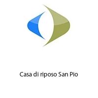 Casa di riposo San Pio