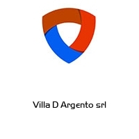 Villa D Argento srl