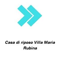 Casa di riposo Villa Maria Rubina