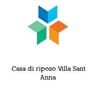 Casa di riposo Villa Sant Anna