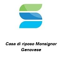 Casa di riposo Monsignor Genovese