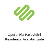Opera Pia Paravidini Residenza Assistenziale