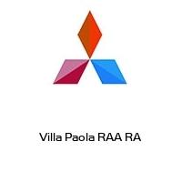 Villa Paola RAA RA