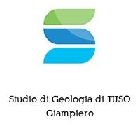 Studio di Geologia di TUSO Giampiero