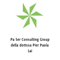 Pa Ser Consulting Group della dottssa Pier Paola Lai