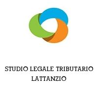 STUDIO LEGALE TRIBUTARIO LATTANZIO
